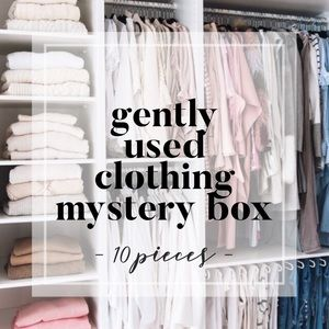 Other - 10 pieces ▪️ Gently Used Clothing Mystery Box